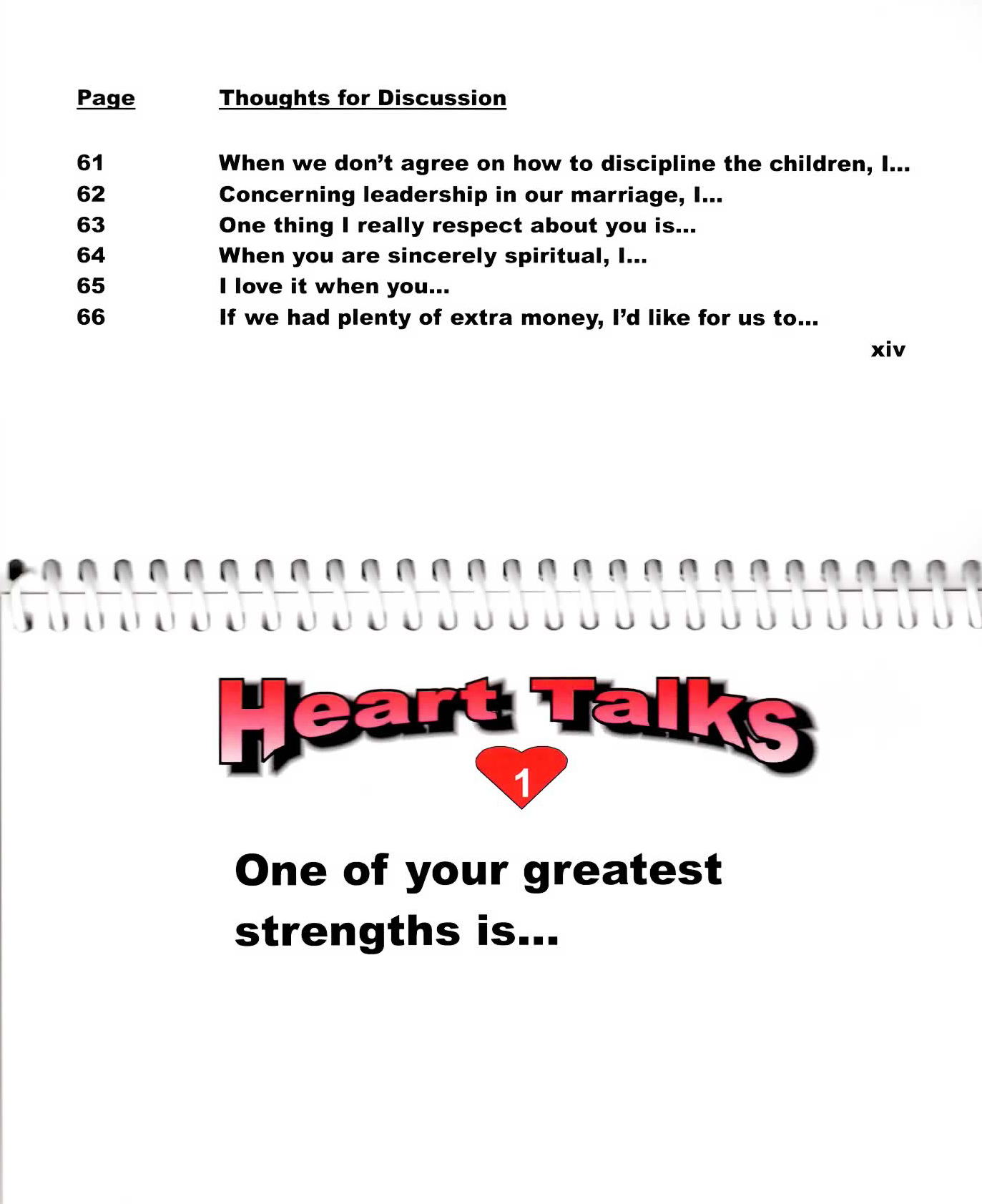 Heart Talks Couples Example