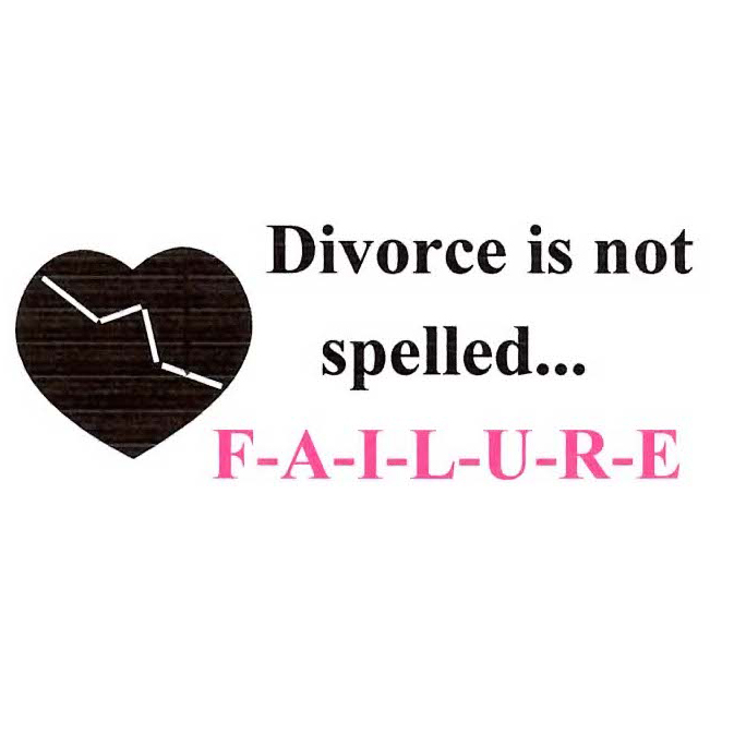 WOW Divorce is Not Spelled Failure