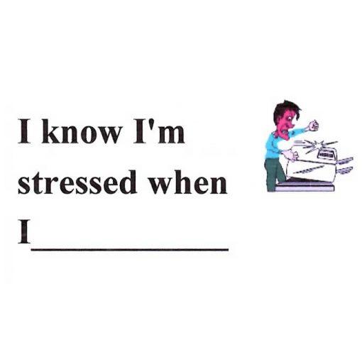 I Know I'm Stressed When I