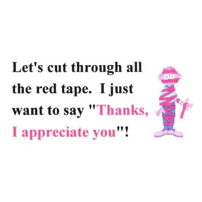 Let's Cut Through All the Red Tape
