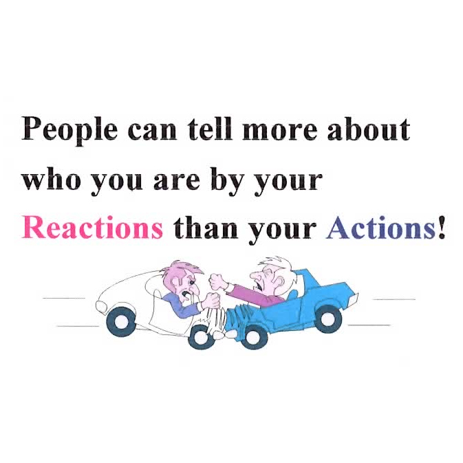 People Can Tell More About You by Your Reaction