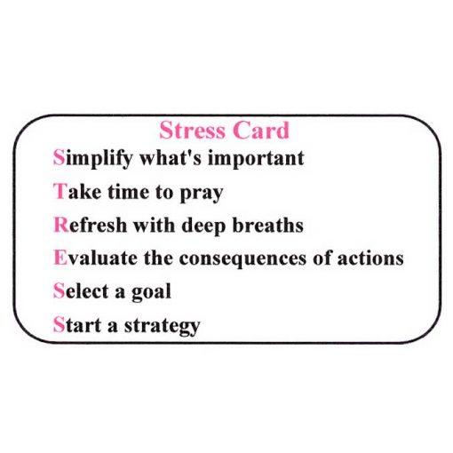Stress Card