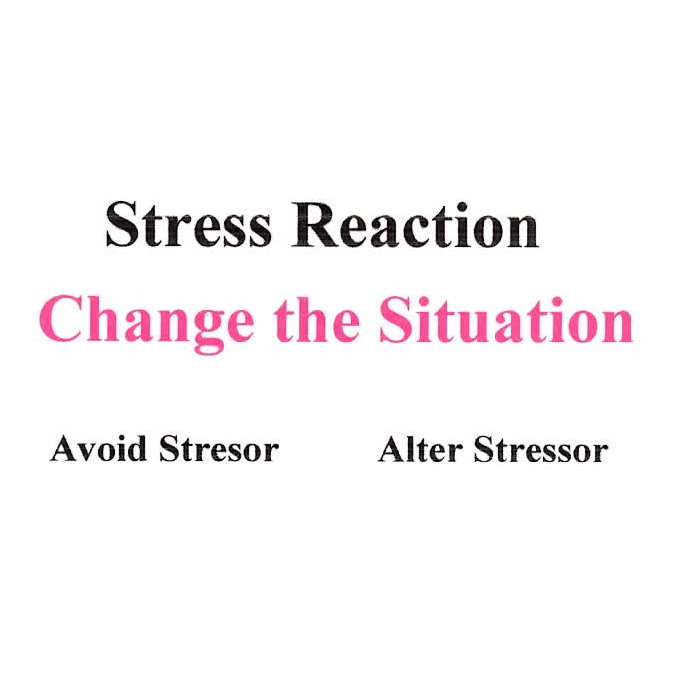 Stress Reaction Avoid