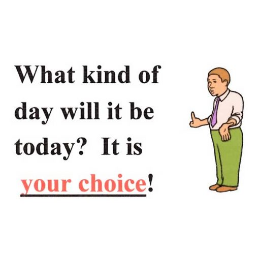 What Kind Of Day Will It Be Today?