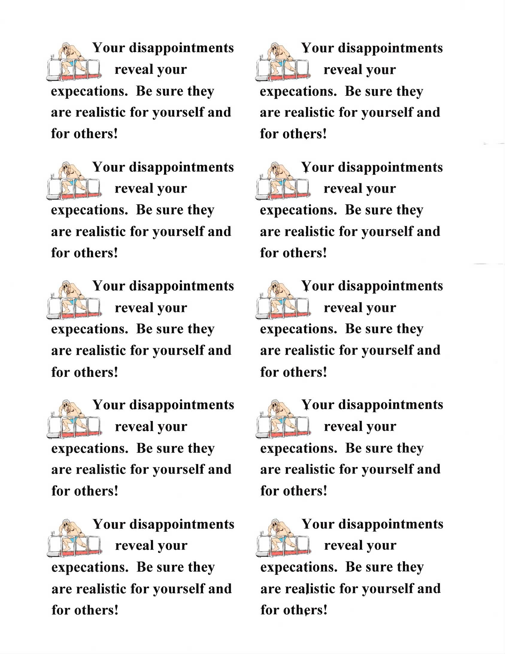Your Disappointments Reveal Your Expectations